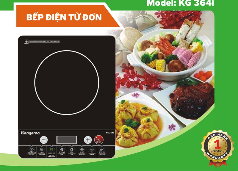 Đặc tính kỹ thuật bếp điện từ đơn