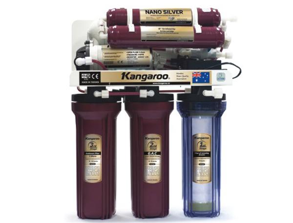 Máy lọc nước Kangaroo loại bỏ Asen KG 106 không vỏ inox