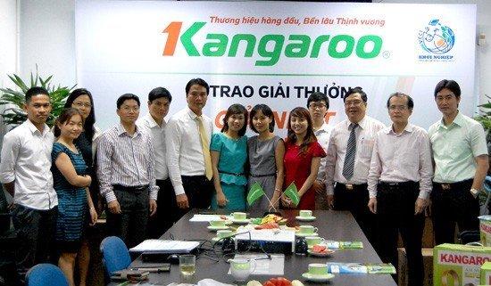 Tập đoàn Kangaroo đồng hành cùng Chương trình Khởi nghiệp
