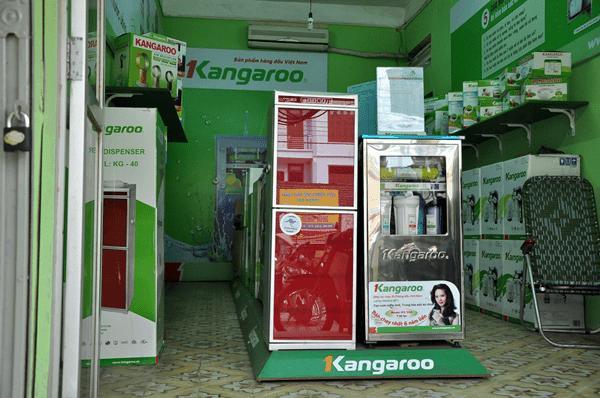 Các cửa hàng Kangaroo mới tại Hà Nội