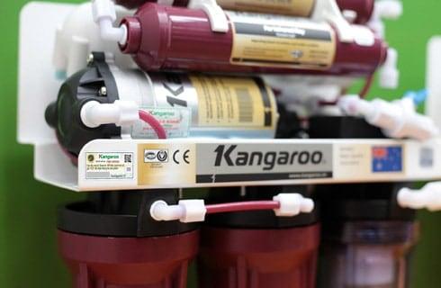 Máy lọc nước Kangaroo mới loại bỏ được asen trong nước