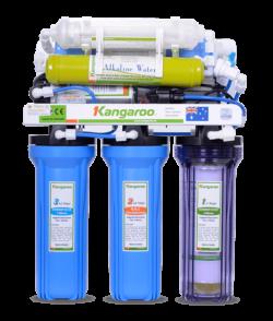Máy lọc nước kangaroo KG104 RO 7 lõi lọc - Không tủ