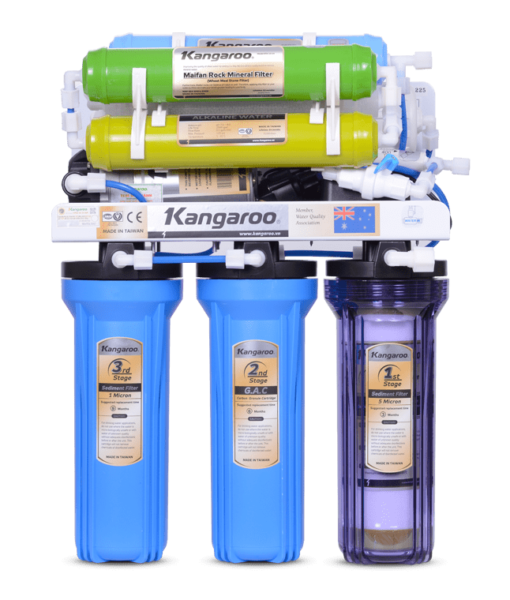 Máy lọc nước Kangaroo 8 lõi KG108 không tủ