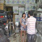 Truyền hình Việt Nam phỏng vấn hệ thống Bán các sản phẩm Kangaroo tại 83 Phố Láng Hạ , Hà Nội