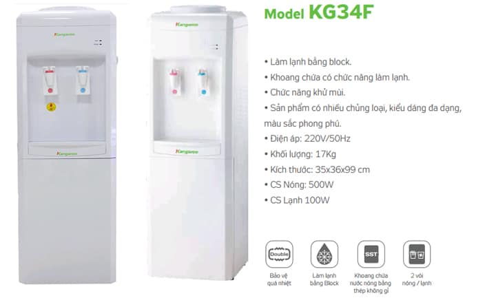 Mô tả cây nước KG34F