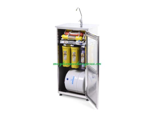 Máy lọc nước Kangaroo KG107 tủ inox mở nghiêng