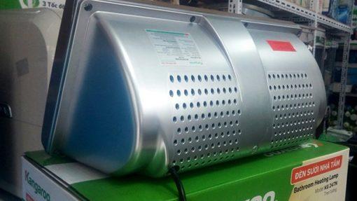 Thiết kế tản nhiệt kiểu mới sẽ giúp cho đèn luôn được làm mát, tăng độ bền của đèn.