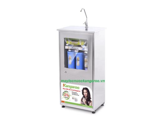 Máy lọc nước Kangaroo KG108 tủ Inox nghiêng