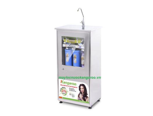 Máy lọc nước Kangaroo KG108A tủ Inox nghiêng