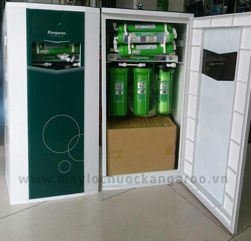 Hình ảnh máy lọc nước Kangaroo tủ VTU màu trắng