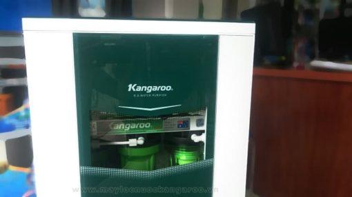 Logo Kangaroo tủ vertu trắng