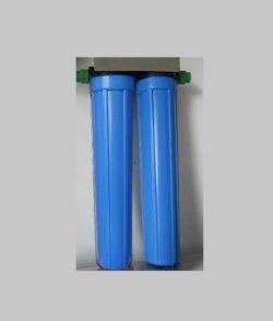 Máy lọc nước đầu nguồn 2 cốc lọc