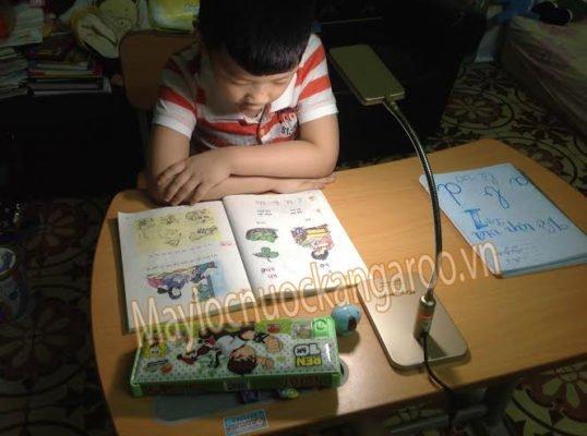 Đèn học an toàn, hình thực tế đối với trẻ nhỏ