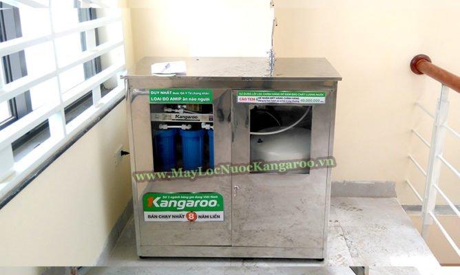 Máy lọc nước công suất lớn có tủ Inox