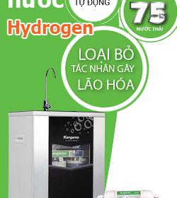 Máy lọc nước Hydrogen mới