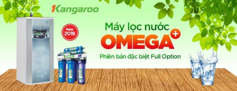 Máy lọc nước Kangaroo Omega+ mới