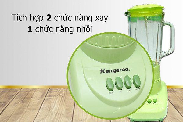 Máy xay sinh tố Kangroo KG 302 dễ sử dụng và an toàn với hệ thống chống trượt