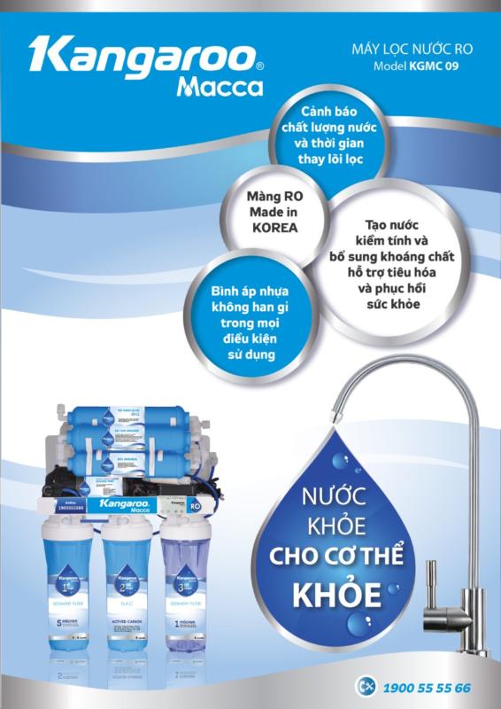 Các chức năng chính của Máy lọc nước Kangaroo Macca