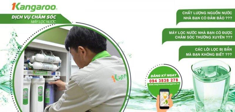 Dịch vụ chăm sóc máy lọc nước