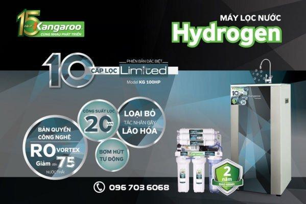 Tìm hiểu về máy lọc nước Kangaroo Hydrogen thế hệ mới