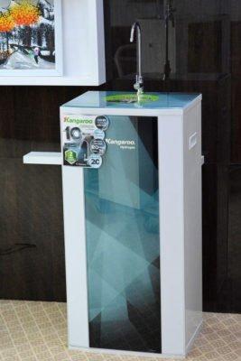 Hình ảnh máy lọc nước Kangaroo Hydrogen Plus KG100HP có tủ hoàn toàn mới