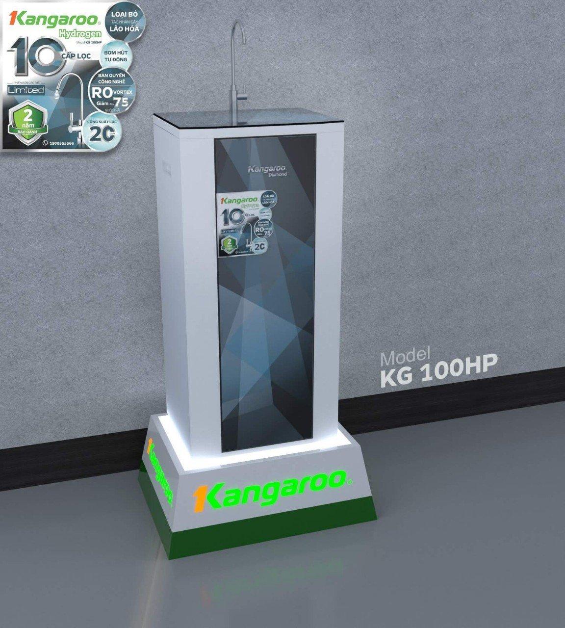 Hình ảnh tổng quát máy lọc nước Kangaroo Hydrogen KG100HP
