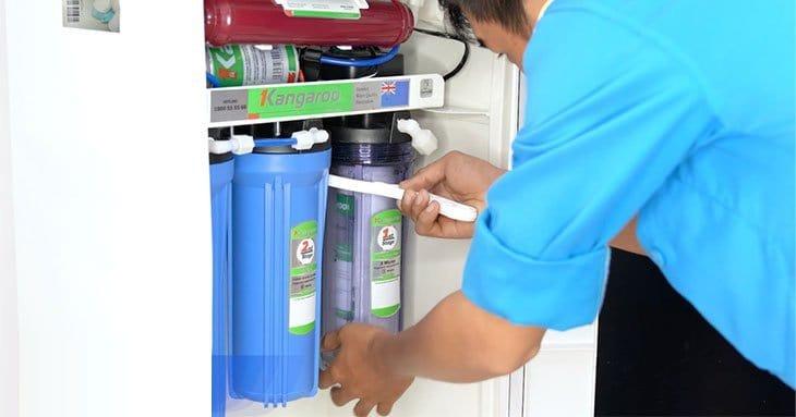 Hướng dẫn lắp đặt máy lọc nước Kangaroo mới