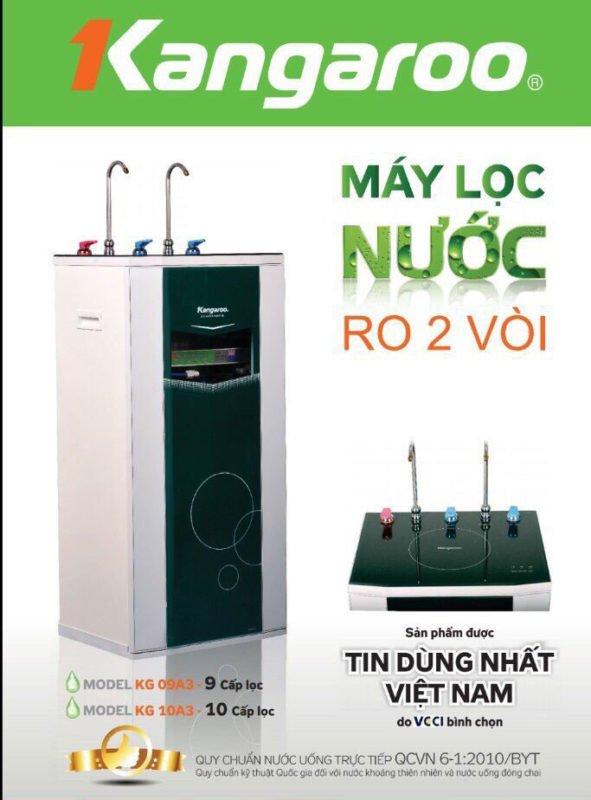 Tính năng máy lọc nước Kangaroo KG10A3