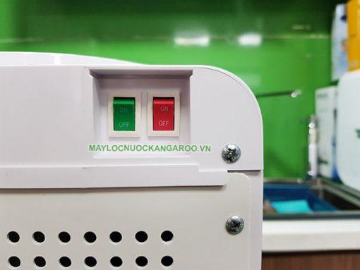 Công tắc nóng lạnh riêng biệt, có thể tắt/bật khi có nhu cầu
