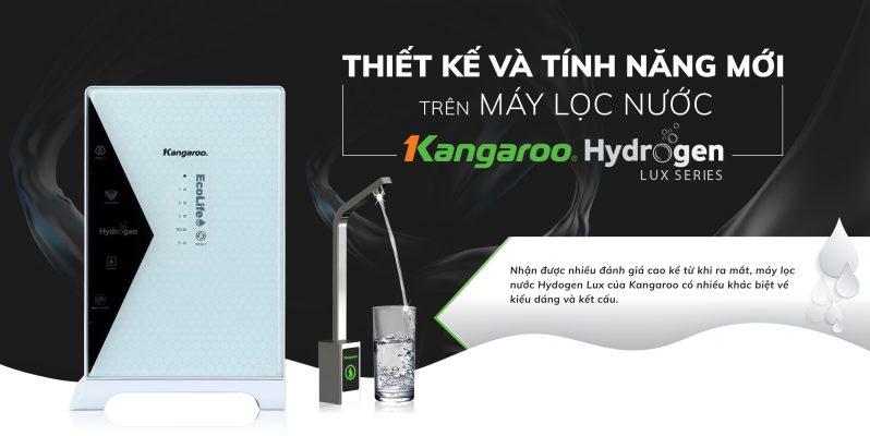 Thiet Ke Va Tinh Nang Moi Cua May Loc Nuoc Kangaroo Hydrogen