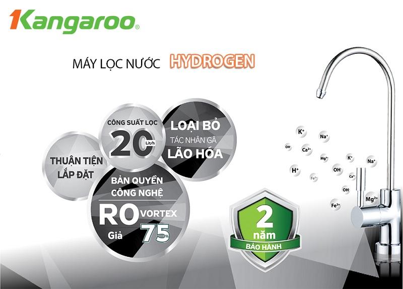 Máy lọc nước Hydrogen KG100HB