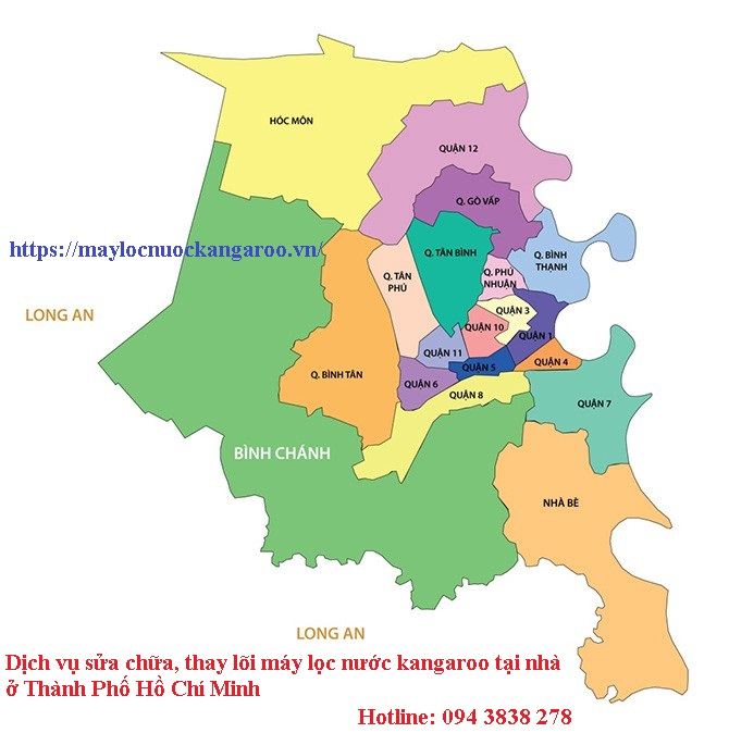 Sua Chua May Loc Nuoc Kangaroo Tai Nha O Thanh Pho Ho Chi Minh