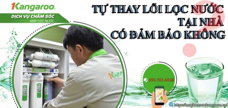 Tu Thay Loi Loc Nuoc Kangaroo Tai Nha Co Dam Bao Khong Min