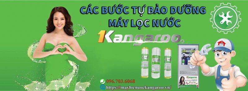 Cac Buoc Tu Bao Duong May Loc Nuoc Kangaroo De May Chay Ben Bi Min
