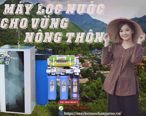 Chon May Loc Nuoc Cho Vung Nong Thon Nhu The Nao Min