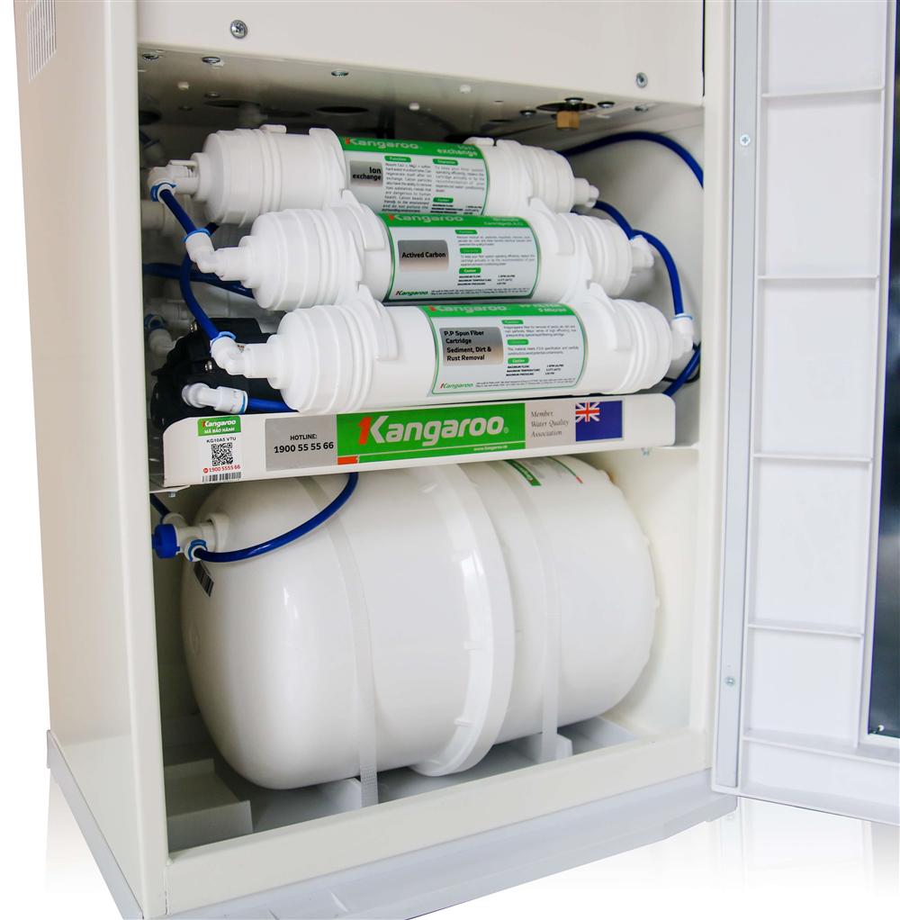 Máy lọc nước nóng lạnh Kangaroo Hydrogen KG10A5 - 10 cấp lọc