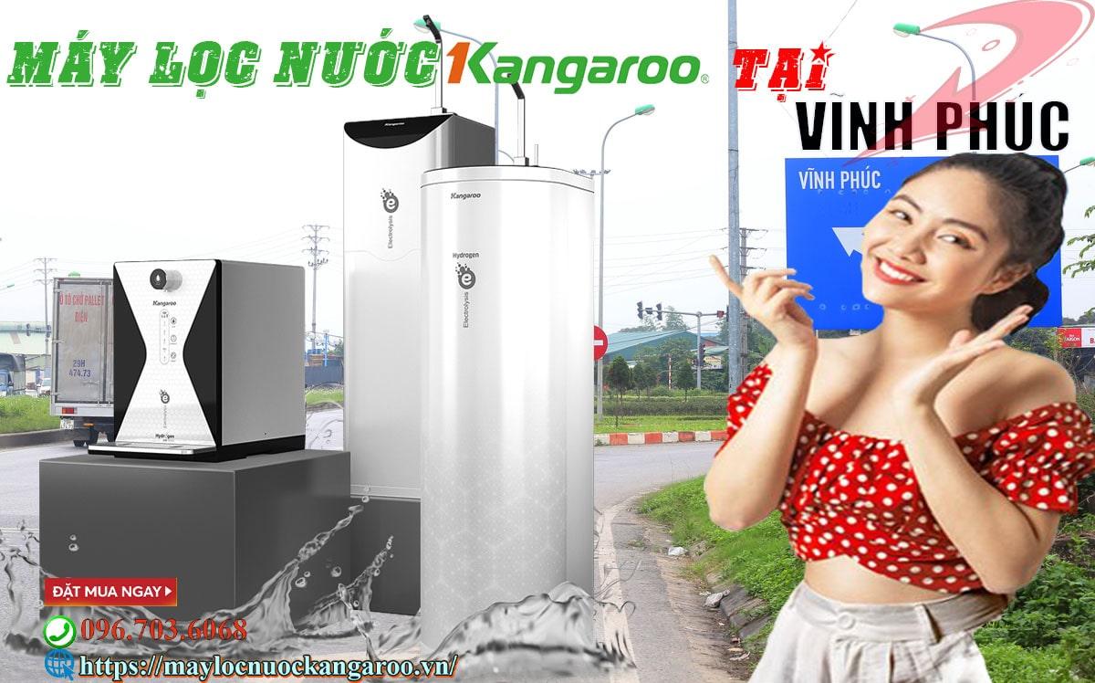 Đại lý máy lọc nước kangaroo tại vĩnh phúc 【100% chính hãng】