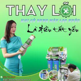 Thay Loi Loc Nuoc Khi Su Dung May Loc Nuoc La Dieu Tat Yeu Min