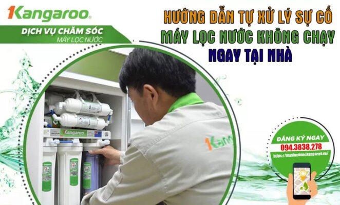 Xu Ly Su Co May Loc Nuoc Khong Chay Dai Dien Min