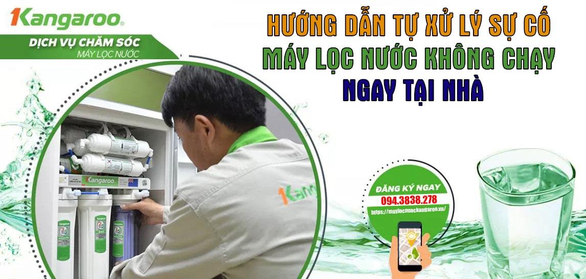 Xu Ly Su Co May Loc Nuoc Khong Chay Min