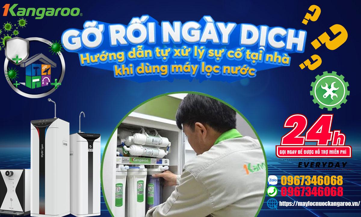 Hướng dẫn xử lý sự cố Máy lọc nước bị rò rỉ điện, có mùi khét